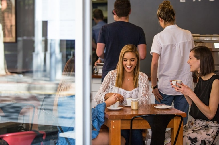 Exchange Specialty Coffee in Adelaide © South Australian Tourism Commission
