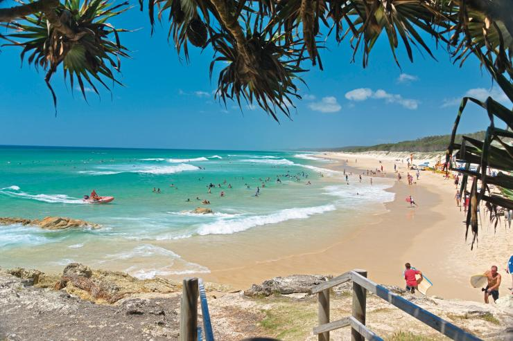North Stradbroke Island, QLD © Tourism and Events Queensland