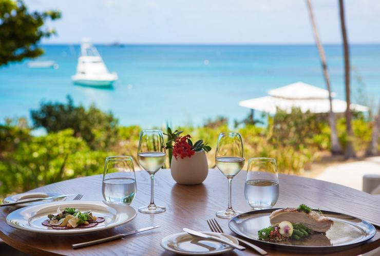 Wine and cuisine, Lizard Island, Great Barrier Reef, QLD © Lizard Island