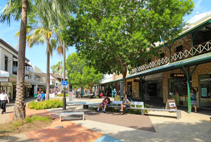 Smith Street Mall in Darwin © Tourism NT/Chris Frankenfeld