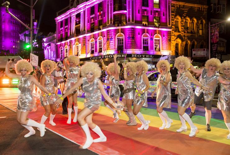 Sydney Gay and Lesbian Mardi Gras, Sydney, NSW © James Horan, Destination NSW