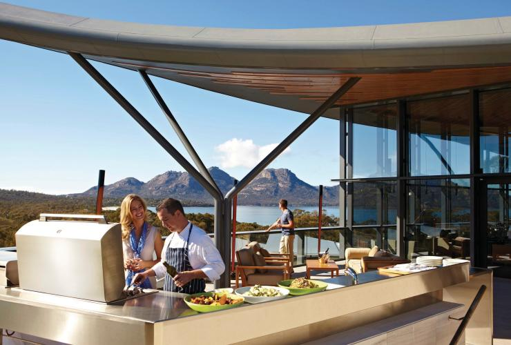 Saffire, Freycinet Peninsula, TAS © Luxury Lodges of Australia