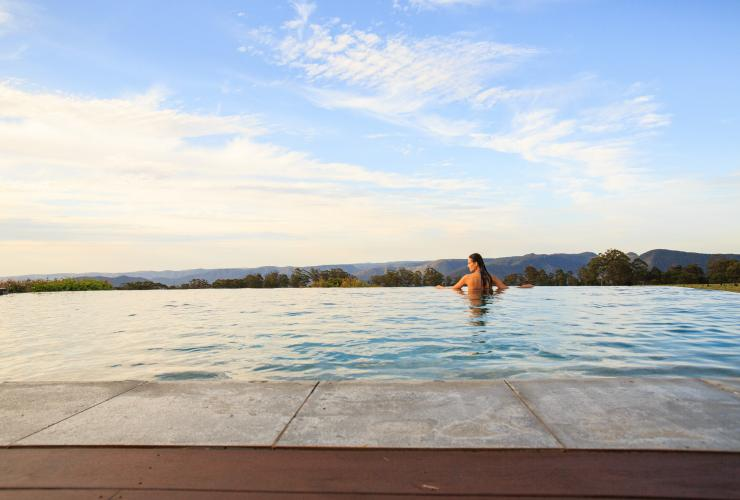 Spicers Peak Lodge, Scenic Rim, QLD © Spicers Group