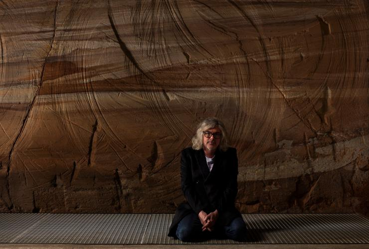 David Walsh, founder of MONA, Hobart, TAS © Mona, Rémi Chauvin