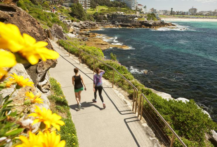 Bondi to Coogee Coastal Walk, Sydney, NSW © Destination NSW