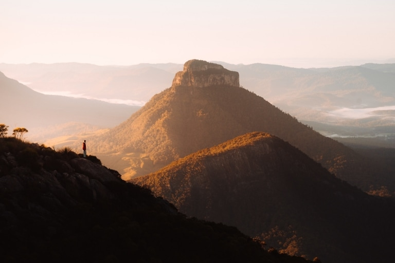 Mt Barney Summit, Scenic Rim, QLD © Tourism and Events Queensland