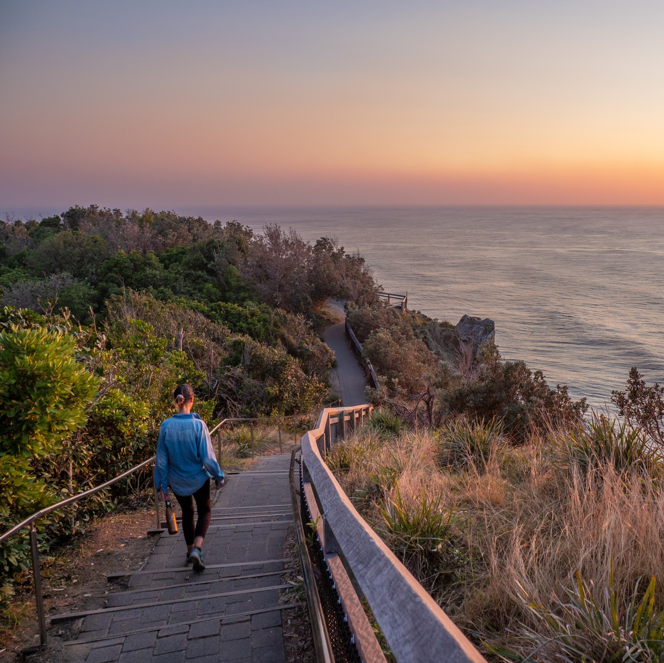 Sunset at Cape Byron in Byron Bay © Tourism Australia