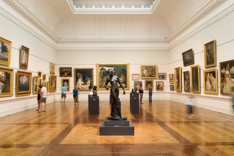 Inside Sydney's Art Gallery of New South Wales © Art Gallery of New South Wales