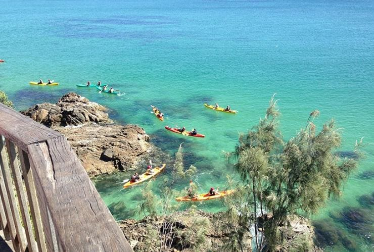 Kayaking, Byron Bay, NSW © Cape Byron Kayaks