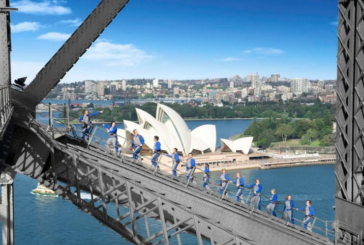 BridgeClimb, Sydney Harbour Bridge, Sydney, NSW © BridgeClimb Sydney
