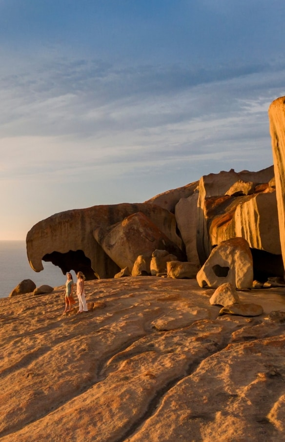Remarkable Rocks, Kangaroo Island, South Australia. © South Australian Tourism Commission