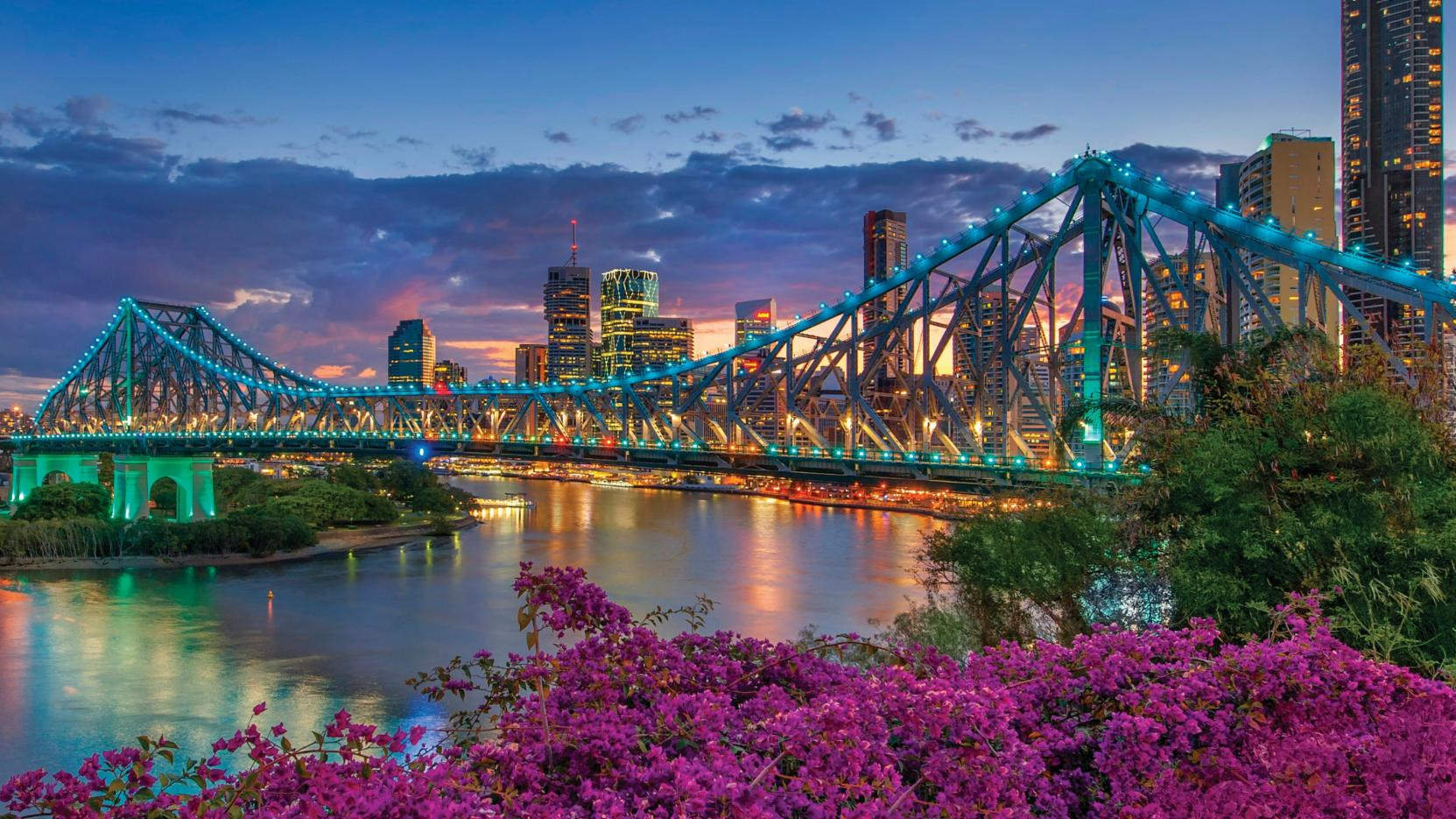 Brisbane, QLD. © Tourism and Events Queensland