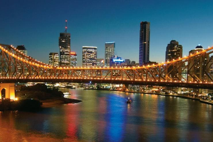 Story Bridge, Brisbane, QLD © Tourism and Events Queensland