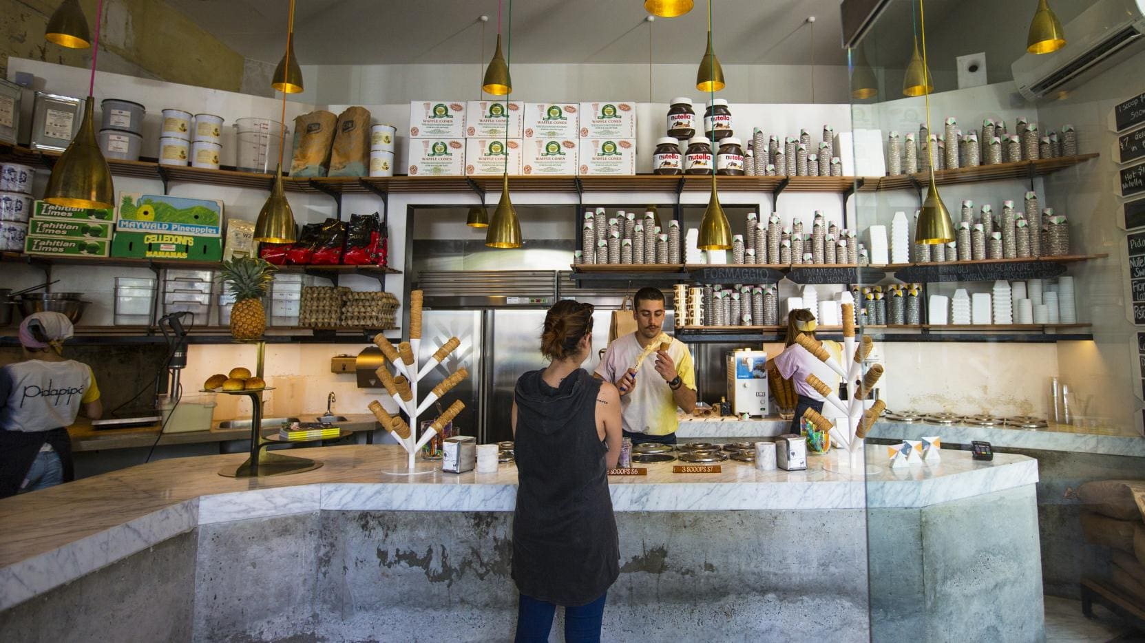 Pidapipo Gelateria, Carlton, Melbourne, VIC © Josie Withers Photography