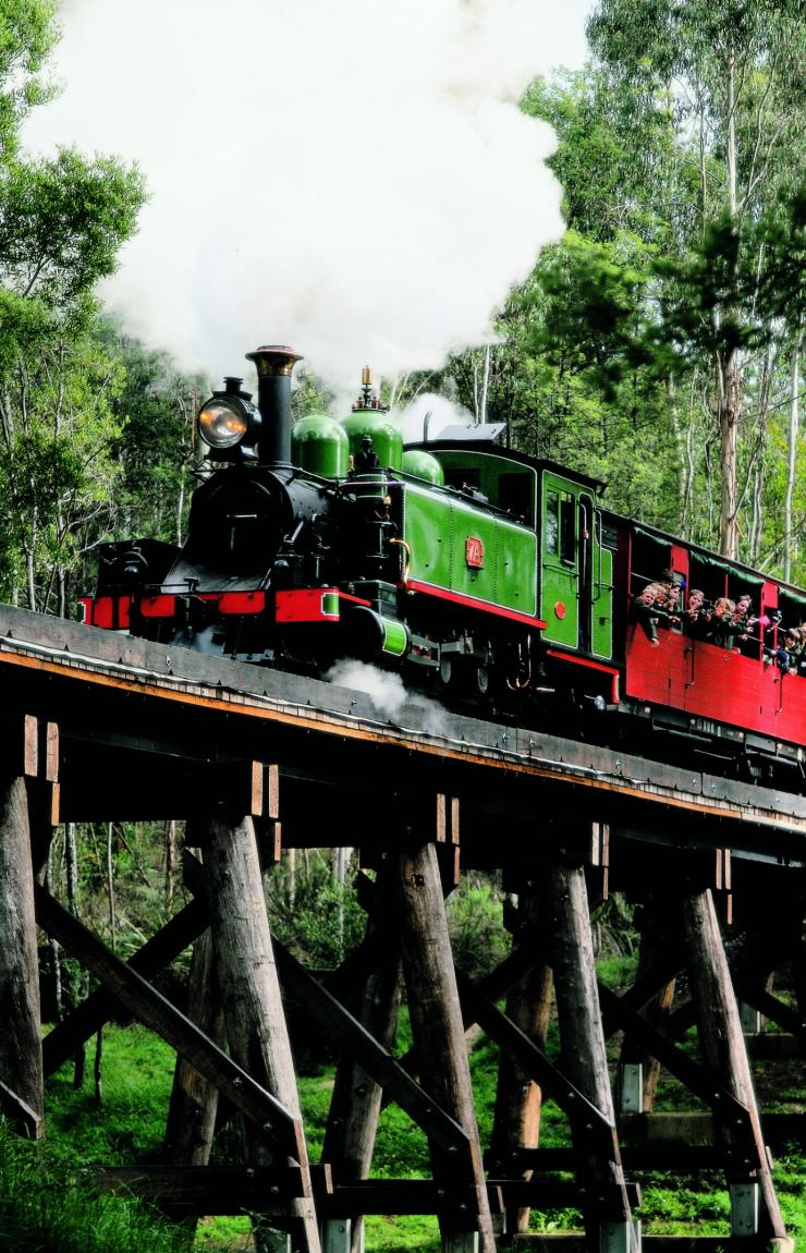 Puffing Billy Railway, Dandenong Ranges, VIC © Puffing Billy, Dandenong Ranges