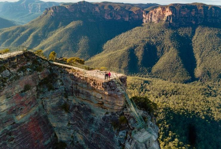Pulpit Rock Lookout, Blue Mountains, NSW © Destination NSW, The Travel Intern