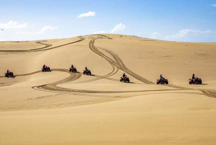 Quad biking in Port Stephens, NSW © Destination NSW