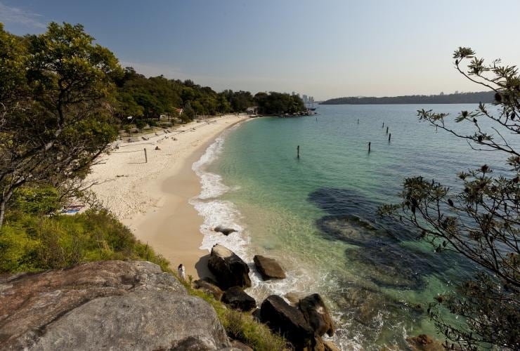 Shark Beach at Nielsen Park, Sydney © Andrew Gregory / Destination NSW
