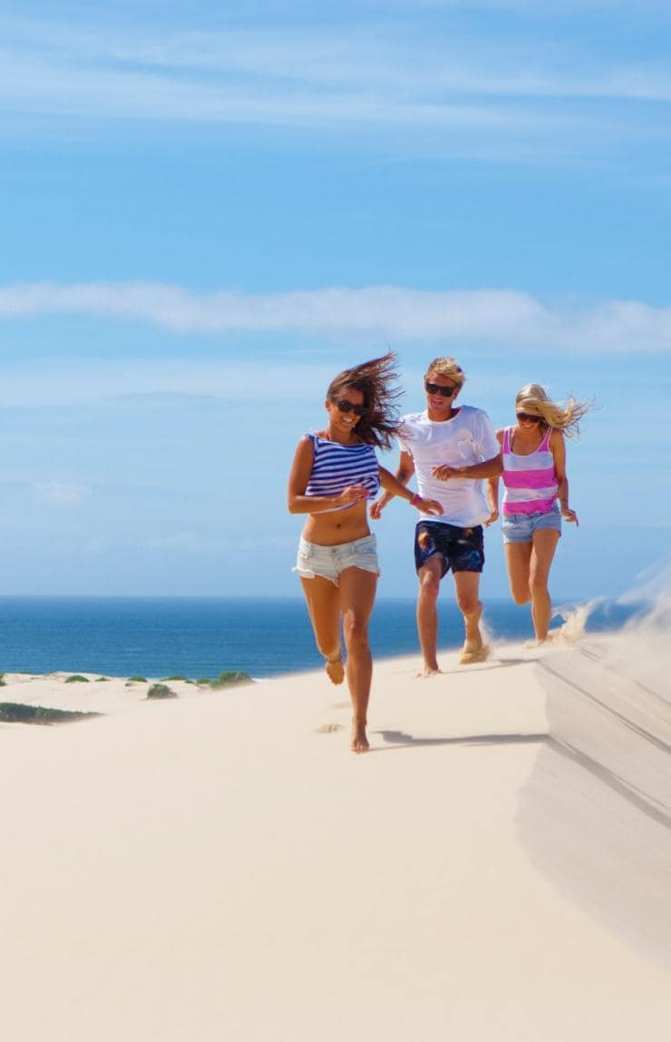Stockton Bight Sand Dunes, Port Stephens, NSW © Tourism Australia