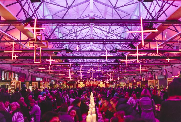 Dark Mofo winter feast, Hobart, TAS © Tourism Tasmania