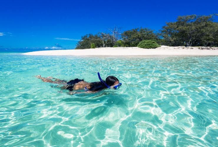 Snorkelling at Heron Island, QLD © James Vodicka