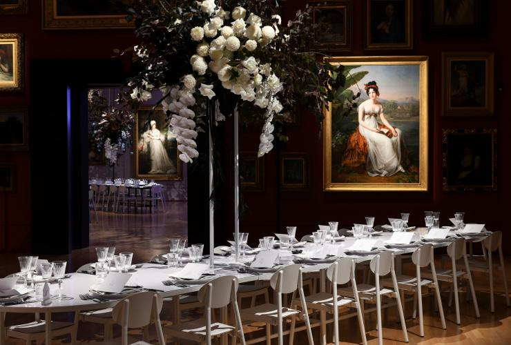 Private Gallery Dinner, National Gallery of Victoria, Melbourne, VIC © National Gallery of Victoria