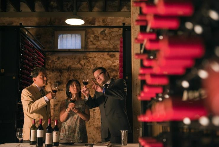 Wine tasting at Penfold's Magill Estate © South Australian Tourism Commission