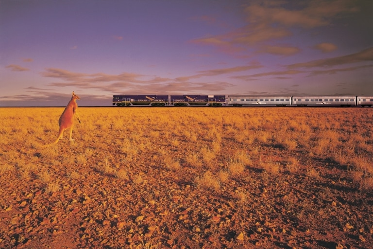 The Indian Pacific, Kalgoorlie, Western Australia © Tourism Western Australia