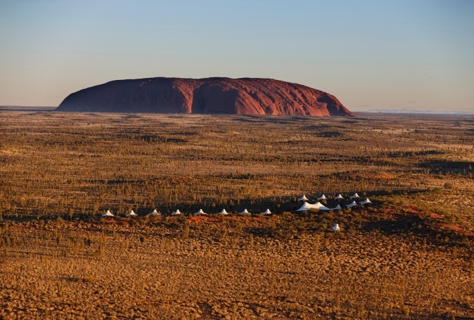 Longitude 131, Uluru Kata Tjuta National Park, Red Centre, NT © Luxury Lodges of Australia