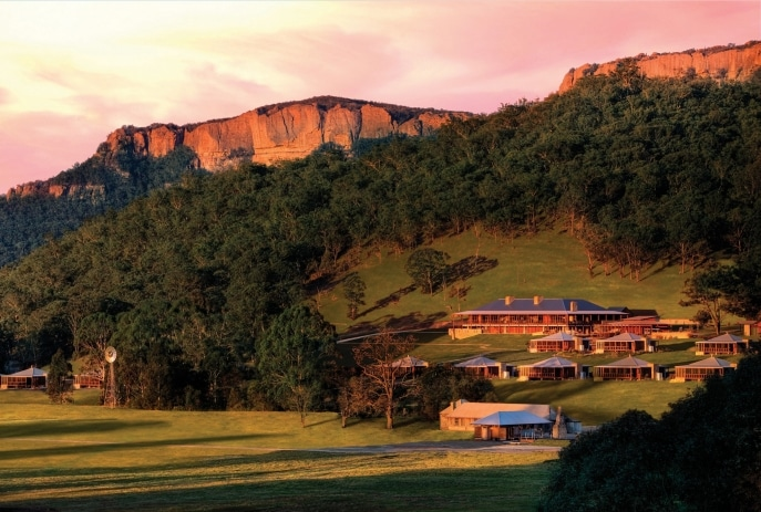 Emirates One&Only Wolgan Valley, Wolgan Valley, NSW © Luxury Lodges of Australia