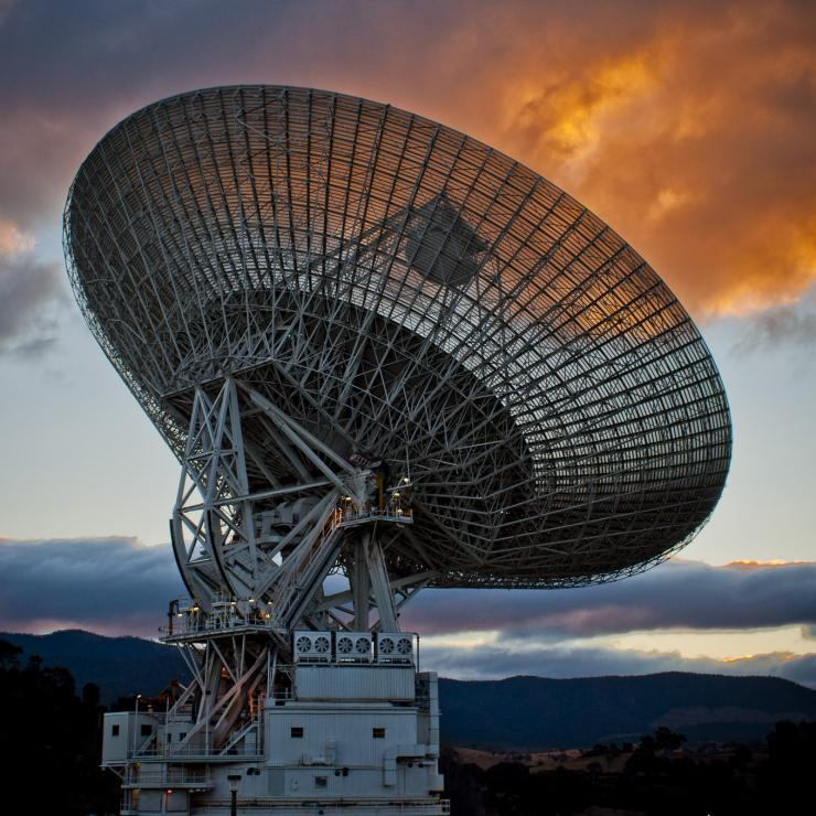 Antenna at the Canberra Deep Space Communication Complex © VisitCanberra