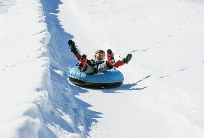 Tubing at Falls Creek, VIC © Charlie Brown, Falls Creek Alpine Resort