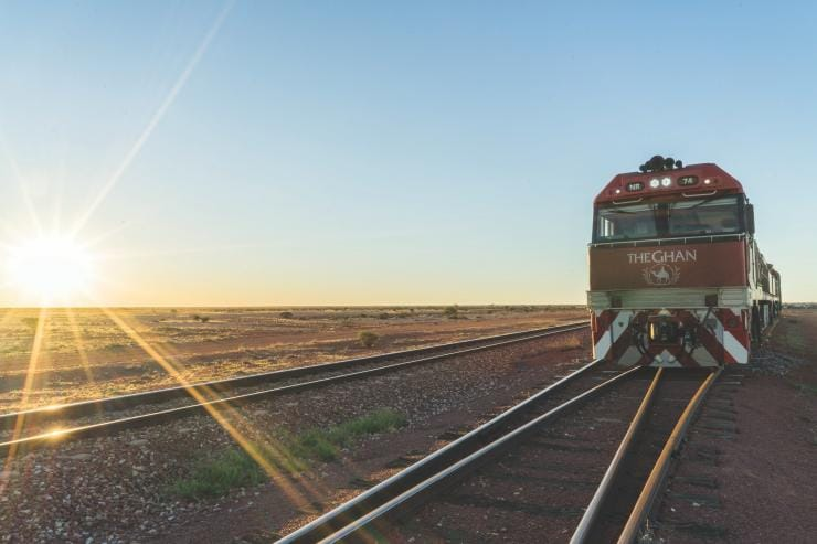 The Ghan, Adelaide, SA. © Great Southern Rail