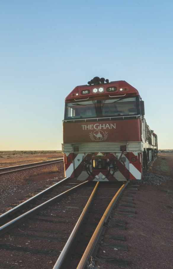 The Ghan, Adelaide, SA © Journey Beyond