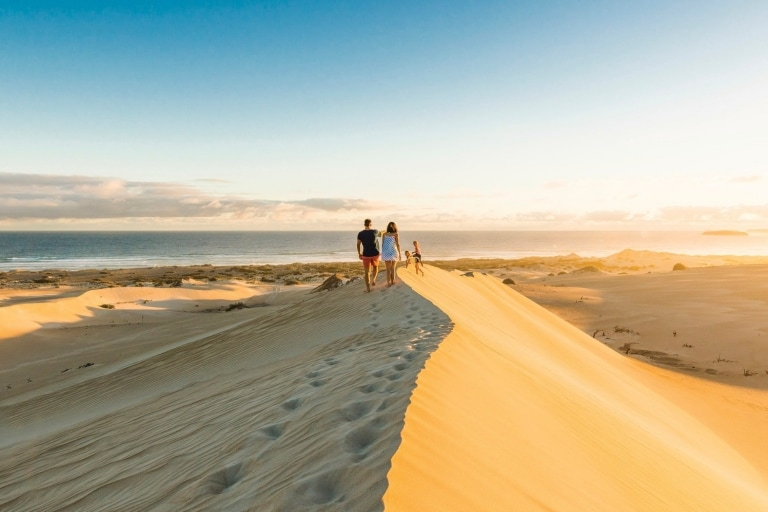 Gunyah Beach Sand Dunes, Coffin Bay National Park, SA © Robert Blackburn