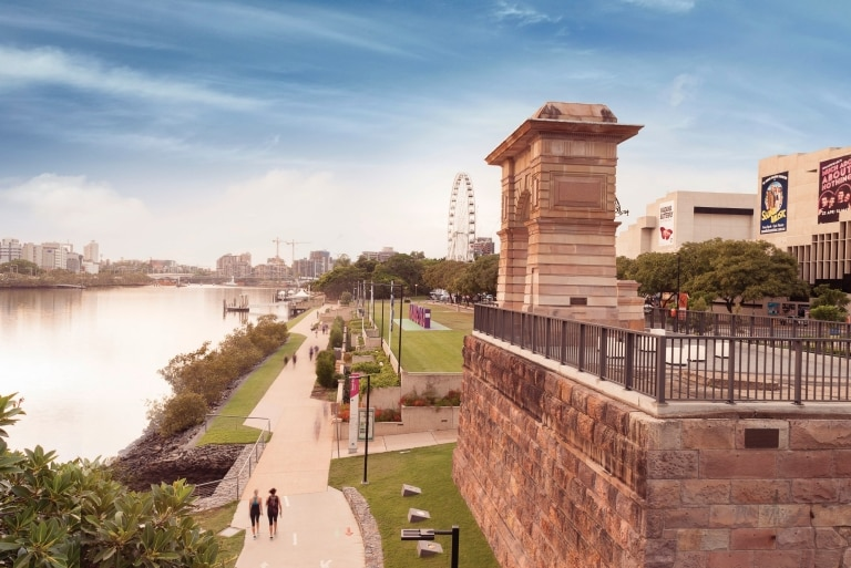 South Bank, Brisbane, QLD © Tourism and Events Queensland