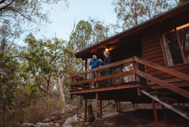 Couple at Granite Belt Retreat in Southern Queensland Country © Tourism and Events Queensland