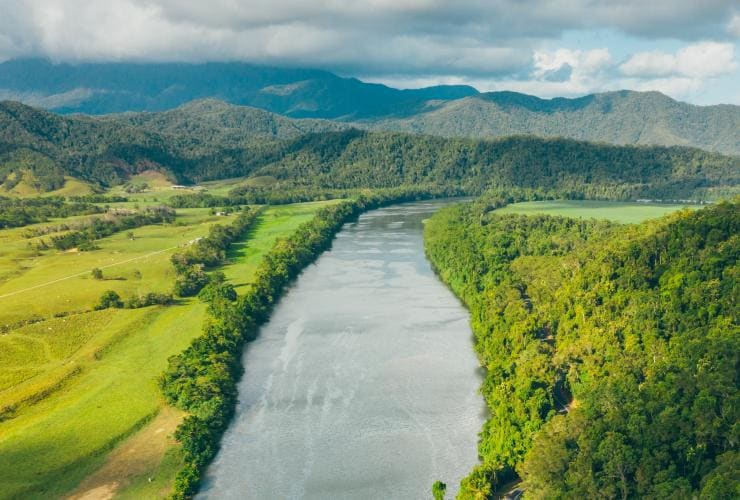 Daintree River, Daintree National Park, QLD © Tourism and Events Queensland