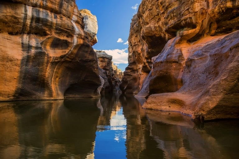 Still waters of Cobbold Gorge in Queensland © Cobbold Gorge Tours
