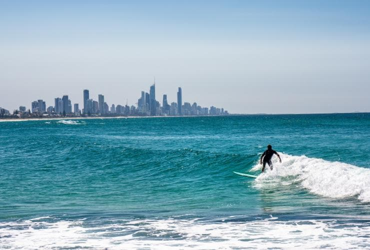 Surfers Paradise, QLD © Tourism and Events Queensland