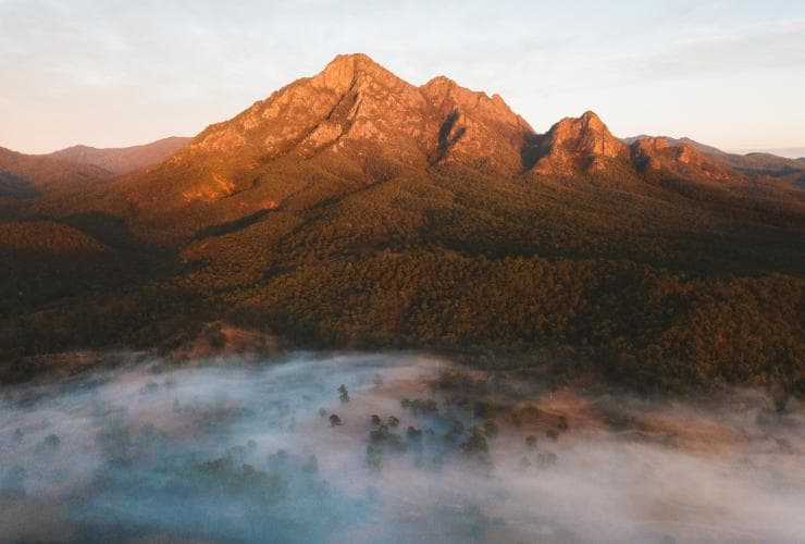 Mt Barney, Scenic Rim, QLD © Tourism and Events Queensland