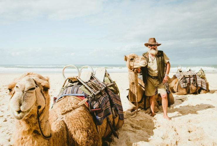 Port Macquarie Camel Safaris, Port Macquarie, NSW © Destination NSW