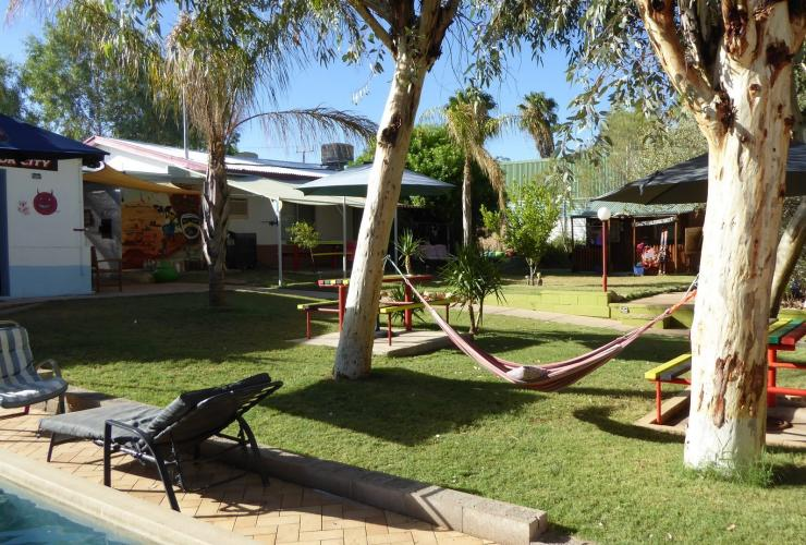 Alice's Secret Travellers Inn, Alice Springs, NT © Sebastian Krasemann