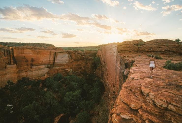Kings Canyon, Watarrka National Park, NT © Tourism NT, Mitchell Cox