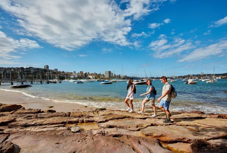 Spit to Manly walk, Sydney, NSW © Destination NSW