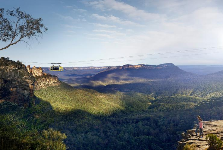 Scenic Cableway, Katoomba, Blue Mountains, NSW © Scenic World