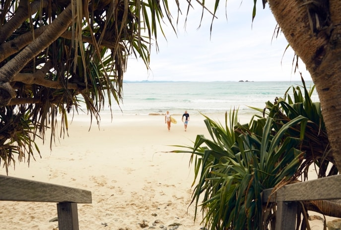 Wategos Beach, Byron Bay, NSW © Tourism Australia
