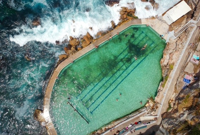 Bronte Baths, Bronte Beach, Sydney, NSW © Ashlea Wheeler