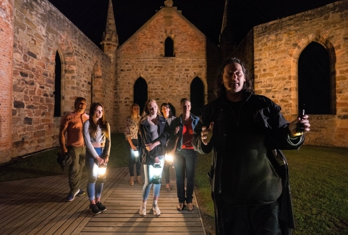 Ghost Tour, Port Arthur Historic Site, TAS © Alastair Bett, Tourism Tasmania