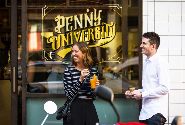 Penny University, East End, Adelaide, SA © South Australian Tourism Commission